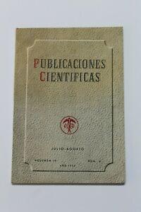 Antique Magazine Publications Scientific Alter, July-August 1952, Volume IV