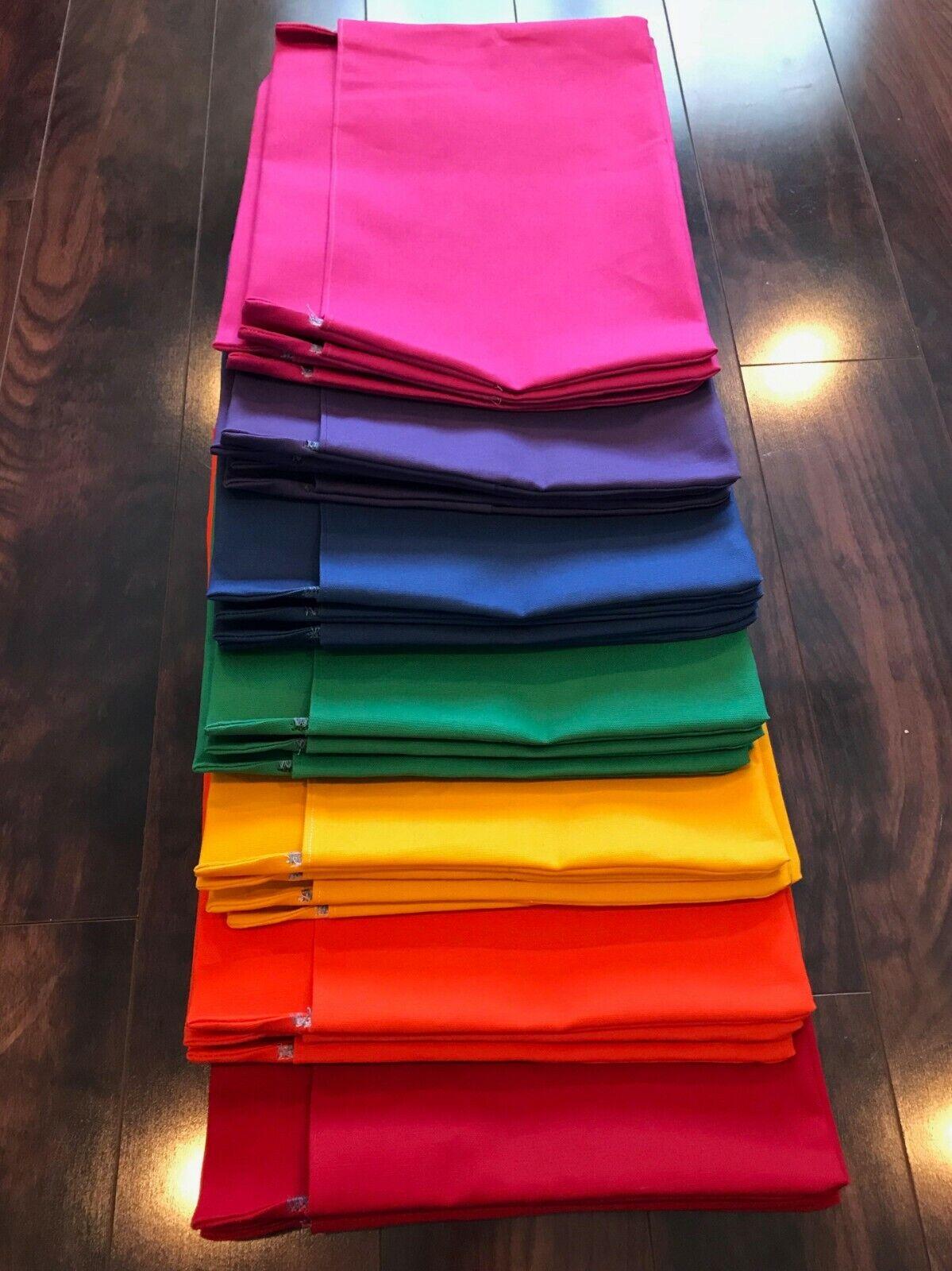 Conjunto de 25 grandes bolsillos silla  Saco De Asiento  cualquier Color se adapta sillas de 15  de ancho  exclusivo