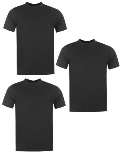 Donnay T-Shirt T Shirt Tshirt Manches Courtes Hommes Top Loisirs 3er Pack 9227