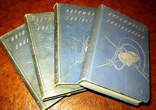 1933-36 37-1946 1947 1948 Automobile Engineering 4 Vols Cadillac Ford Olds Chevy