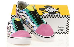 Vans Disney 90th Anniversary Old Skool Mickey Pink shoes Sneakers Authentic