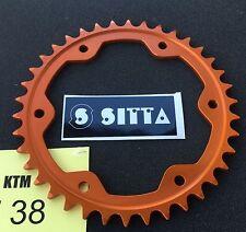 Sitta Alu Kettenrad 38 Z KTM 1290 Super Duke R, 205T-38, #525, orange, Ergal neu