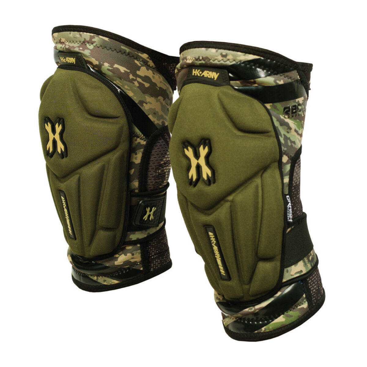HK Army Crash Knee Pads - HSTL Camo - Small