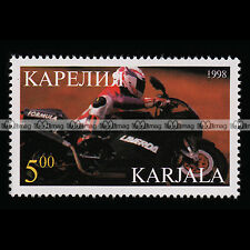 ★ LAVERDA 650 FORMULA ★ KARELIA Timbre Moto Sport Bike Motorcycle Stamp #302