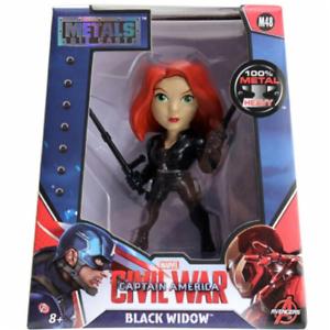 Captain America Civil War Black Widow 4 Inch Diecast Figure M48 New