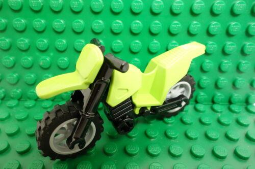 LEGO 8896 Minifigure Dirt Bike LIME GREEN //NEW