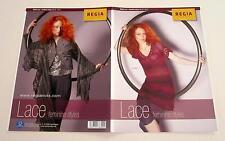 Regia Lace Feminine Styles Knitting Yarn Patern Leaflet Mini Dress and Shawl