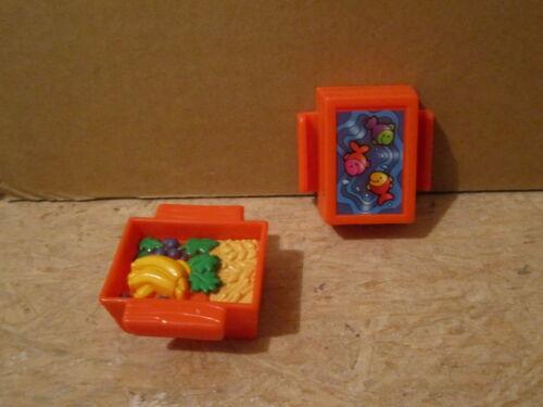 Fisher Price Little People Food crate box orange animals Noah/'s ark zoo farm