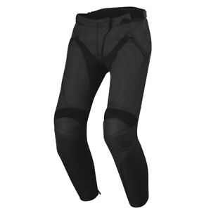 Alpinestars-Jagg-Leather-Motorcycle-Motorbike-Sports-Track-Pants-Jeans-Trousers