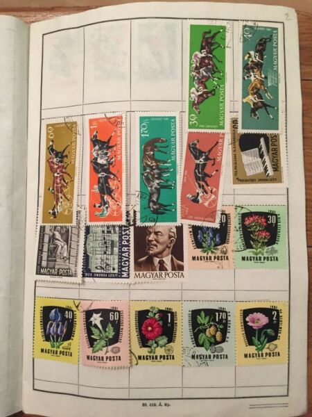 #253 Hungary Magyar 2nd album collection 50 pages