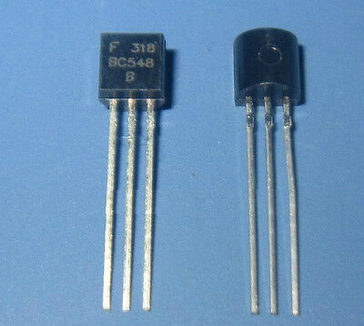 20PCS BC548 BC548B TO-92 TRANSISTOR PNP 30V 100MA TO-92 FAIRCHILD NEW CF