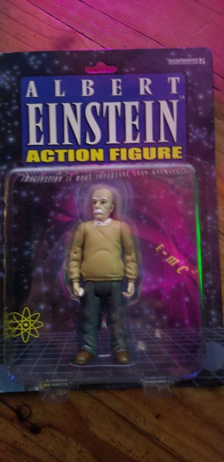 Albert - einstein - actionfigur ließen wissenschaft physiker neue 2003