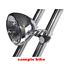 Black-CNC-aluminum-50mm-headlight-bracket-cafe-racer-bobber-streetfighter-custom thumbnail 6