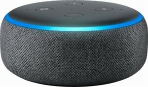 Amazon-Echo-Dot-3rd-Generation-w-Alexa-Voice-Media-Device-Charcoal-BRAND-NEW