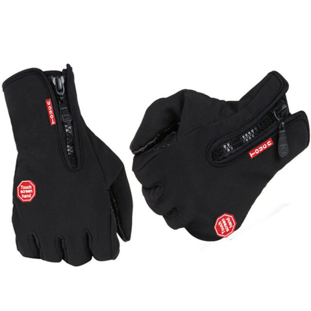 Ski Winter Warm Waterproof Windproof Protection Cars Motorcycle Hiking Gloves