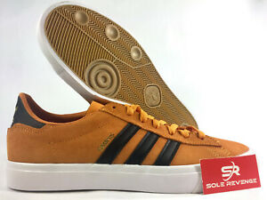 NEW-adidas-CAMPUS-VULC-II-SHOES-CQ1079-Real-Gold-Core-Black-Cloud-White-x1