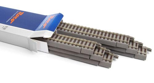 NEU /& OVP 6 Stück Roco 61106 H0 geoLine Flexgleis G800 + +