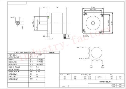 Nema 23 axes Pas à Pas Motor Drive Kit Planetary Gearbox 1.1 Presque comme neuf 1.8 Presque comme neuf 3 Presque comme neuf 5//10//20//30//50 1