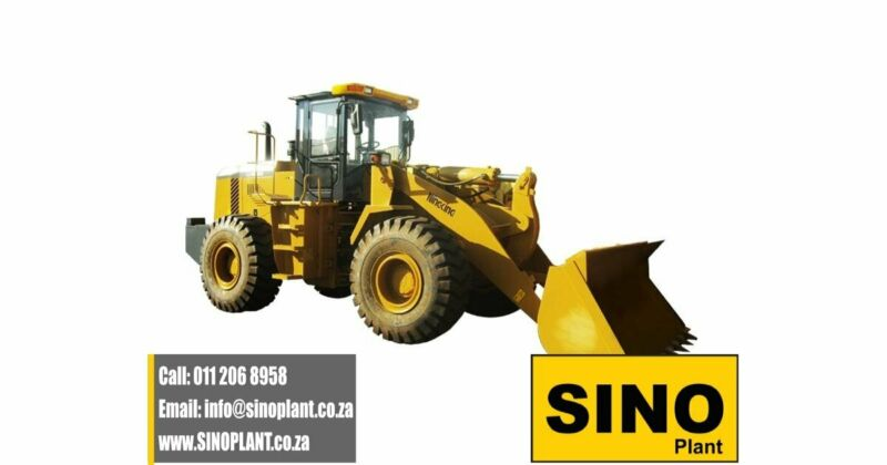 NEW Sino Plant - Front End Loader ZL851 3 Cube