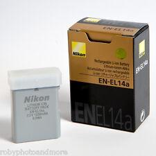 NIKON EN-EL14a BATTERIA ORIGINALE NUOVA+GARANZIA 2 ANNI! D5600-D3400-D5500-D3300
