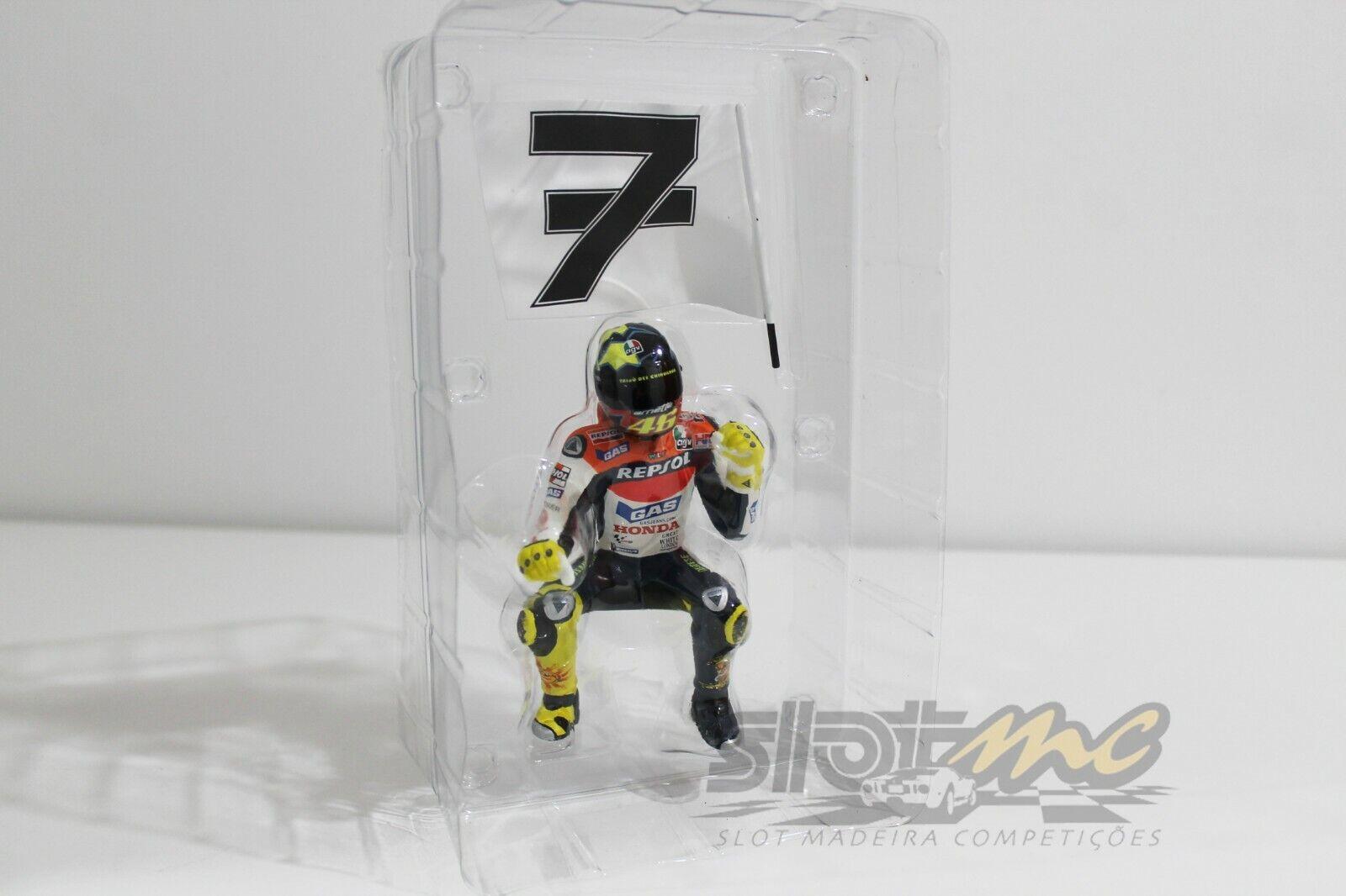 Minichamps 312030196 figura Valentino Rossi MotoGP Philip Island 2003 1 12  NEW