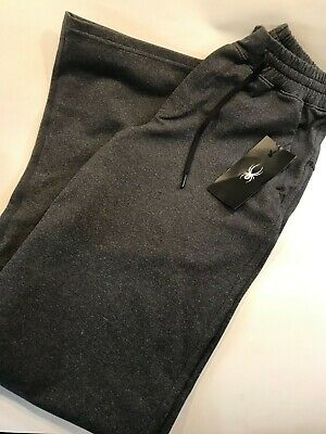 Clothing, Shoes & Accessories Spyder Men's Gray Sweat Pants Breathable Soft Lounge Active New W/tags Non-Ironing Activewear