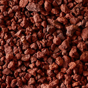 Red Lava Rock For Aquarium Bbq Fireplace Gas Grill Full