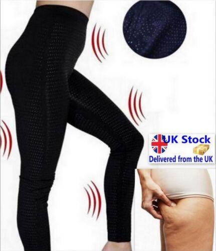 NEW SCULPTING LEG SHAPER anti cellulite leggings fat calories burning UK stock