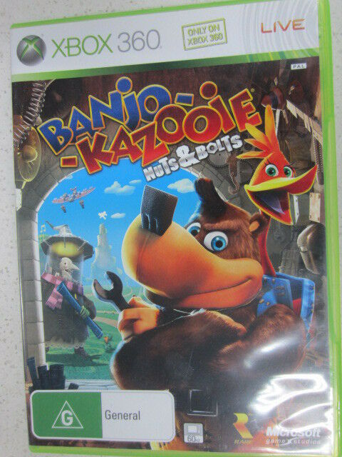 Banjo Kazooie Nuts and Bolts Xbox 360 Game PAL (Works on Xbox One)