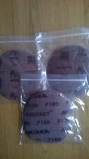 Mirka Abranet mezclado discos de lijado-curso 5x P80, P120, P180 Arena. Gratis P&P