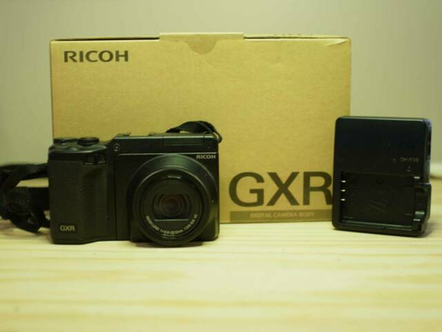 Ricoh GXR Digital Camera Body   P10 28 - 300mm Lens Unit