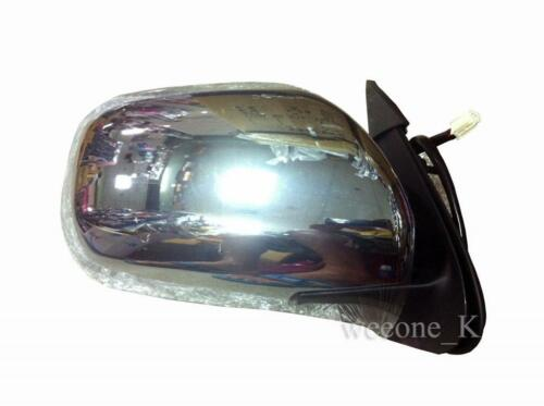 CHROME POWER MIRROR RIGHT SIDE FOR TOYOTA HIACE COMMUTER 2005-2018