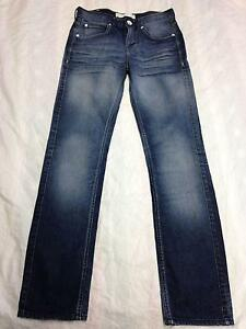 Image is loading Womens-ADIDAS-NEO-LABEL-Distressed-Skinny-Jeans-Sz- 758799d2a9