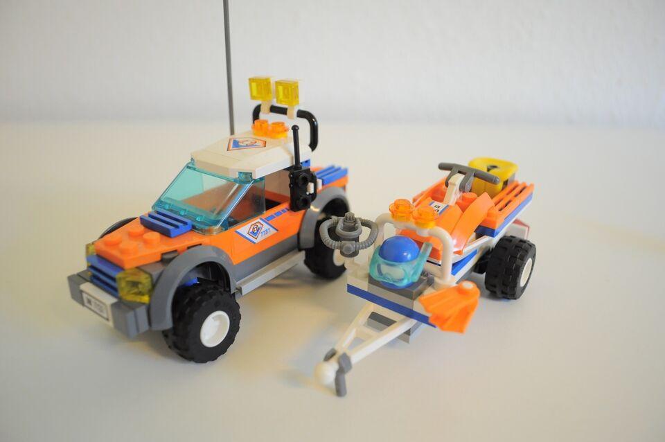Lego City, 7737 Kystvagt bil