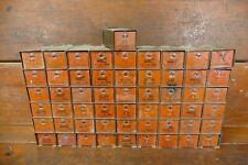 Vintage Dorman Products Add A Bin 1 One Drawer Parts Storage Cabinet Display