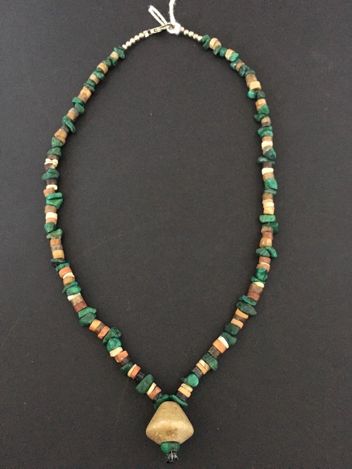 PRE-COLOMBIANI PRE-COLOMBIANI PRE-COLOMBIANI Perlina Collana MOCHE Perù intorno al 100 - 800 D.C. RARA 0107f2