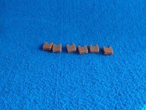 Playmobil-6-x-pieza-intermedia-marron-Castillo-medieval-connection-piece-castle