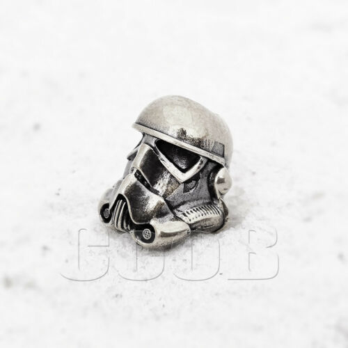 Set STORMTROOPER DARTH WADER STAR WARS Bead Beads for Paracord Bracelet KeyChain