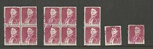 US-Stamp-1293-used-1968-50c-Lucy-Stone-12-Includes-2-blocks-of-4-ref-604