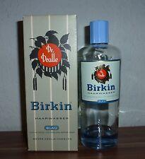 *** VINTAGE ***  Dr.Dralle Birkin Haarwasser Blau 250 ml