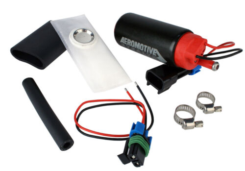 E85 /& Gas In-Tank Fuel Pump Center Inlet 11569 Aeromotive 340 LPH Stealth EFI