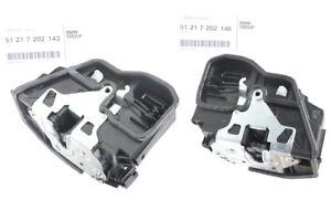 Details about Genuine BMW Front Door Lock Actuator Mechanism L+R LHD  51217202143 51217202146