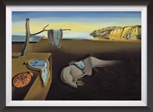 Salvador-Dali-039-The-Persistance-of-Memory-039-Surreal-Art-Print-Poster-Two-Sizes