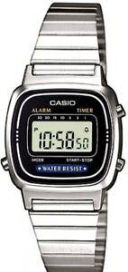 Casio-LA-670W-Orologio-Donna-polso-Vintage-Nuovo-Crono-Sveglia