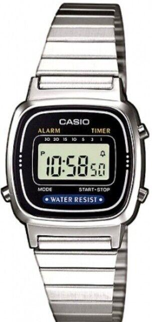Casio LA-670W Orologio Donna polso Vintage Nuovo Crono Sveglia