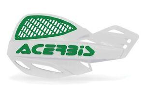 ACERBIS-MX-UNIKO-ventile-Protege-main-blanc-VERT-KXF-KX-MOTOCROSS