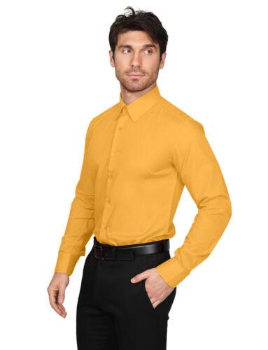 NEMT104 NE PEOPLE Men/'s Slim Fit Button Down Long Sleeve Dress Shirt