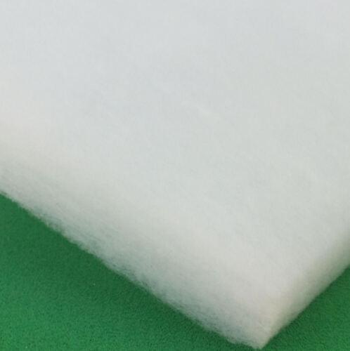 "Fish Pond Filter 3 Pk Of Sponge Foam or 1x Wadding Fleece 11x17 25x18 or 43x21/"""