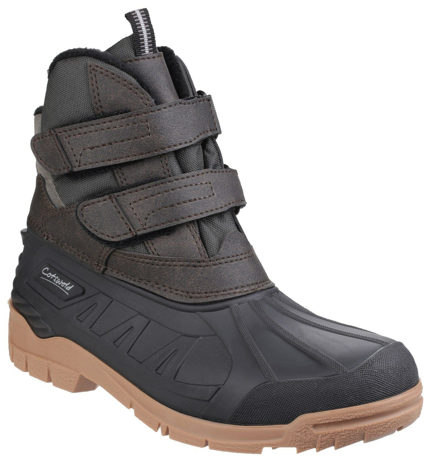 Cotswold Castor Touch Fastening  Uomo Canadian Duck Wellngton Stiefel UK7-12