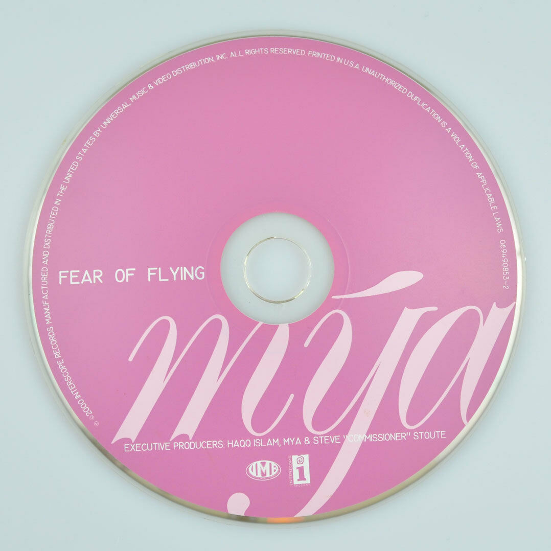 Fear of Flying by Mya (CD, Apr-2000, Interscope (USA)) DISC ONLY 1